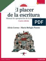 El Placer de La Escritura - Alicia Correa Perez-1-Libre