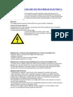 Las 5 Reglas de Oro de Seguridad Electrica (1)