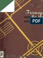 1943 Freeways for the Region