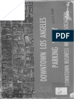 1945 Downtown Los Angeles Parking Study