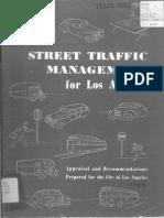 1948 Street Traffic Managment for Los Angeles