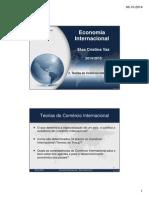 2-Teorias do Comercio Internacional (2.1+2.2)