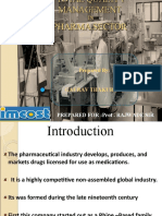 Total Quality Management in Pharma Sector