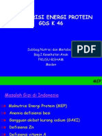 K - 46 Malnutrisi Energi Protein (Ilmu Kesehatan Anak)
