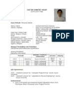 CV (feizal)