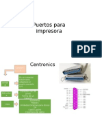 Puerto Centronics puertos PS/1 y PS/2