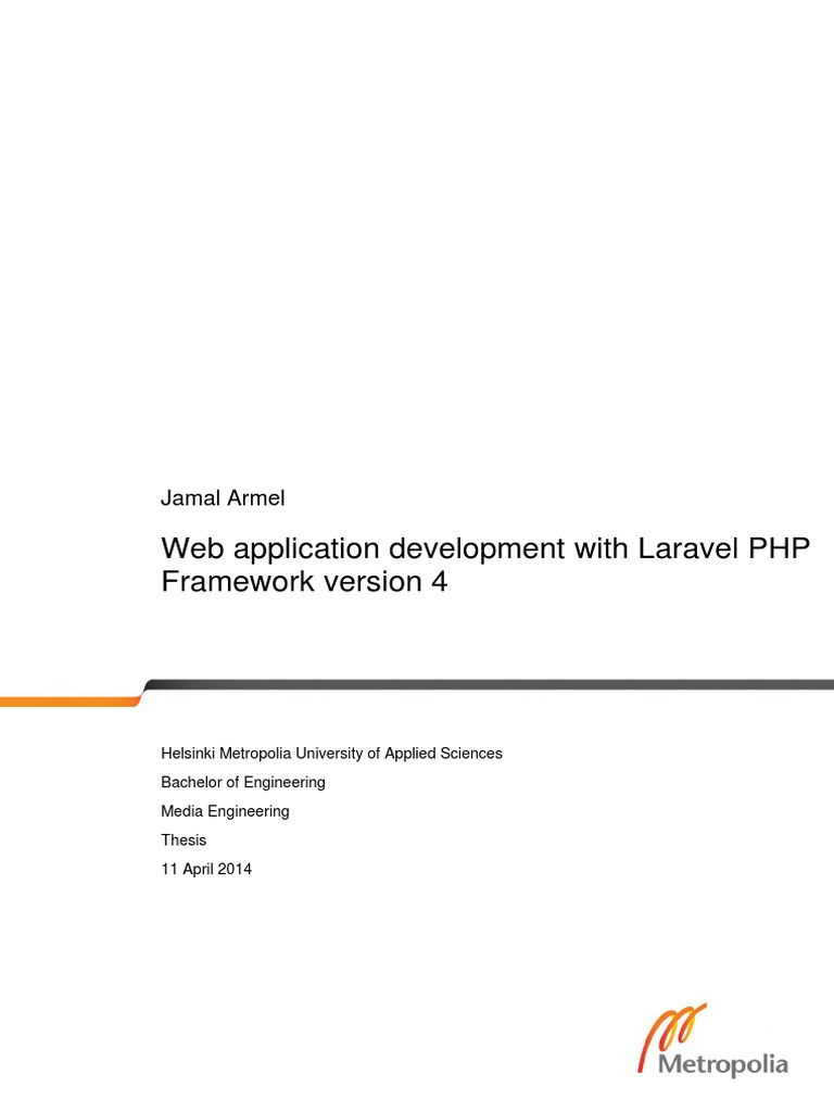 Laravel Web Application | Php | Model–View–Controller
