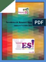 District Newsletter November 2015 (French)