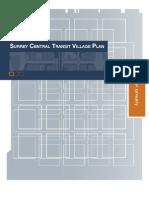 Central Transit Village Plan