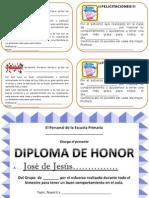 Felicitaciones y Diploma