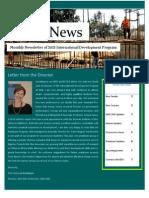 IDEV Newsletter Fall 2015