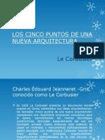LOS CINCO PUNTOS DE UNA NUEVA ARQUITECTURA2.pptx