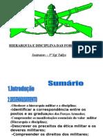 Estatuto Dos Militares- instrução