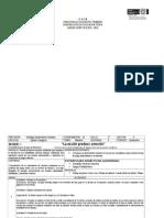 Unidades Didacticas 3° Ciclo - Bloque I Programa 2011