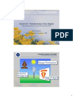 Kuliah 02 - Pengolahan Citra Digital Sampling Quantization 2