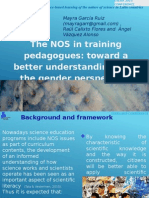 The NOS in gtraining pedagogues