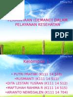 Permintaan (Demand)