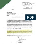 Oficio Tribunal Constitucional Ley Universitaria