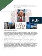 Carta de Jaime Rosenthal Al Ministro Hernández Alcerro