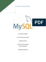 Replicación de Base de Datos Utilizando MySQL
