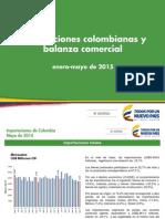 Informe de Importaciones y Balanza comercial