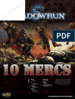 Shadowrun - 10 Mercenaries