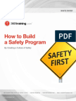 How to Build a Safety Program