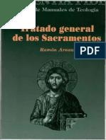04 Arnau, Ramon - Tratado General de Los Sacramentos