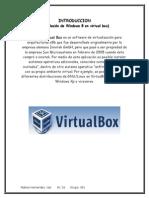 Como instalar windows 8 dentro de Virtual box paso a paso con capturas