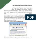 Softwere Pencari DNS Yang Terbaik Untuk Koneksi Internet Kita.docx