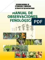 Manual de Observaciones Fenológicas