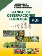 Manual de Observaciones Fenológicas