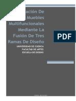 Creación de Muebles Multifuncionales