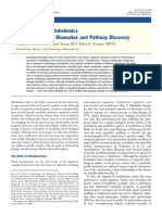 Applications of Metabolomics to Cardiovascular Biomaker and Pathway Discovery