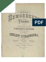 Scharwenka, P. Humoresken Op.31