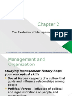 The Evolution of Management Thingking