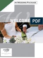 Hunter Valley Resort - Groupon Wedding Package 2015