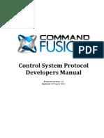 GUI Developer Manual