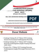 Rencana Pembangunan Jangka Menengah Nasional (RPJMN) (Maret 2015)