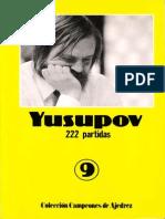 09 - Campeones de Ajedrez - Yusupov