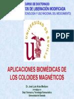 Aplicaciones Biomedicas Coloides Magneticos