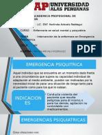Intervenciones de Enfermeria en emergencias