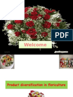 Product Diversification in Floriculture