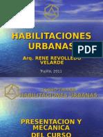 Curso Taller Habilitaciones Urbanas Trujillo