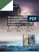 Herramientas y Modelos de La Termodinámica de Sistemas Continuo