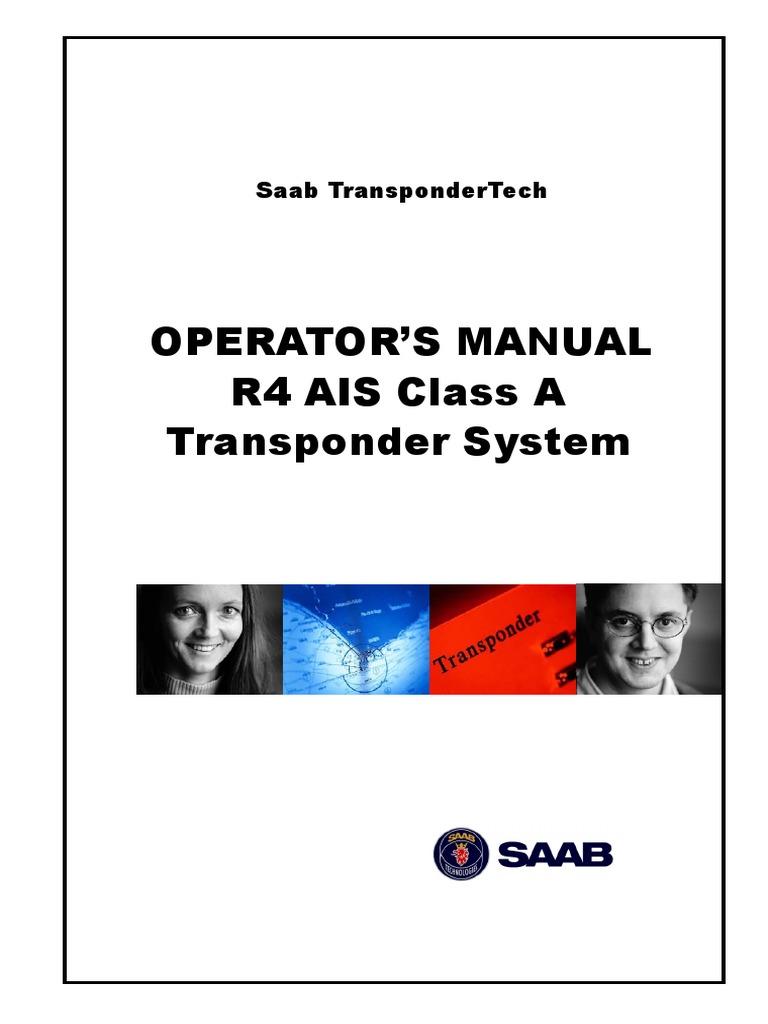 ais saab r4 ais operation manual light emitting diode technology rh scribd com saab r4 ais user manual saab r4 ais transponder installation manual