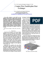 Analysis ofAnalysis of a Counter Flow Parallel-plate Heat a Counter Flow Parallel-plate Heat