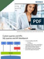 KPI Workbench and Custom SQL Queries Training