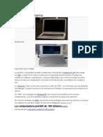 Historia de La Laptop