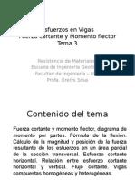 Esfuerzos en Vigas_Tema 3